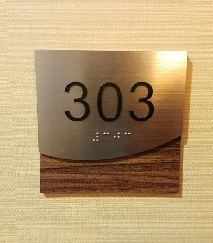 Custom ADA Braille Signs