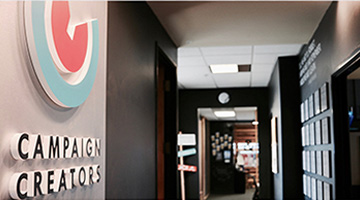 Interior Business Lobby Signs